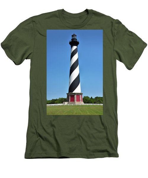 Cape Hatteras Light Men's T-Shirt (Athletic Fit)