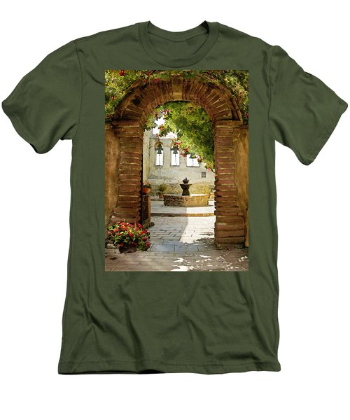 Capistrano Gate Men's T-Shirt (Athletic Fit)