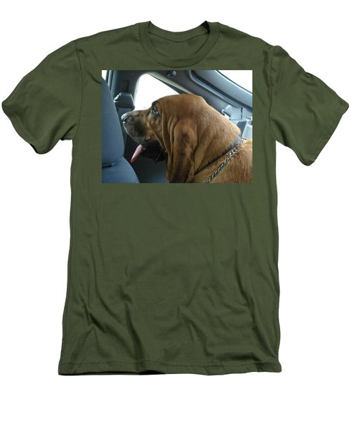 Car Ride Men's T-Shirt (Slim Fit) by Val Oconnor