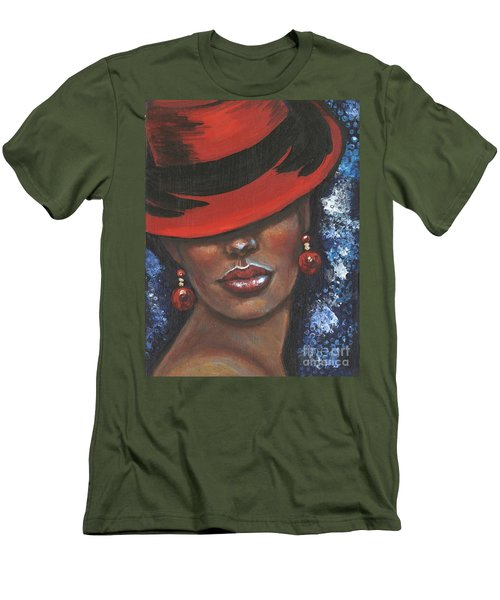 Carbaret Red Men's T-Shirt (Athletic Fit)