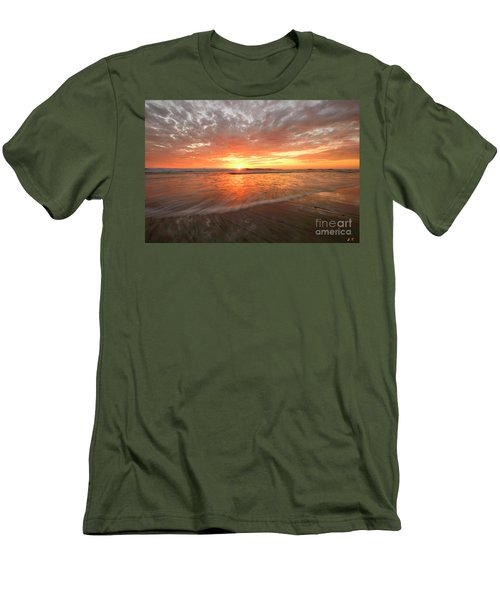 Men's T-Shirt (Athletic Fit) featuring the photograph Cardiff Starburst by John F Tsumas