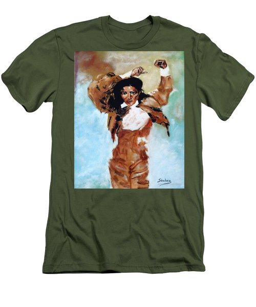 Carmen Amaya Men's T-Shirt (Slim Fit) by Manuel Sanchez