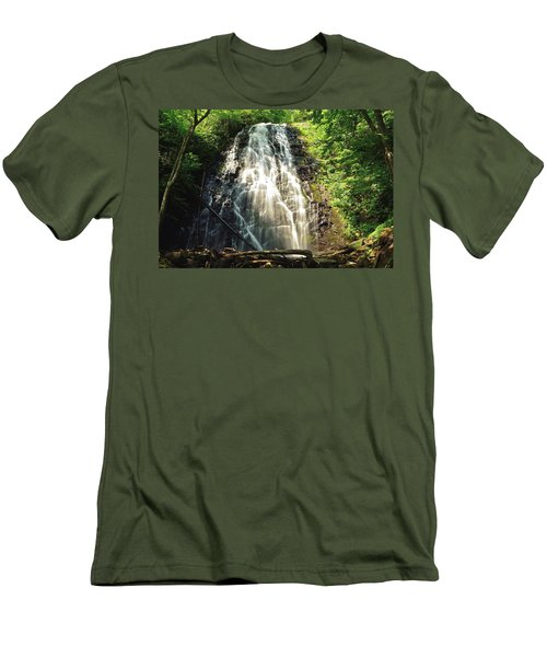 Carolina's Crabtree Falls Men's T-Shirt (Athletic Fit)