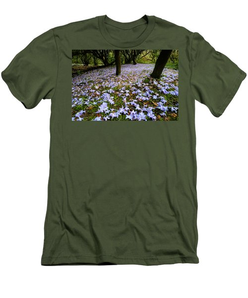 Carpet Of Petals Men's T-Shirt (Athletic Fit)