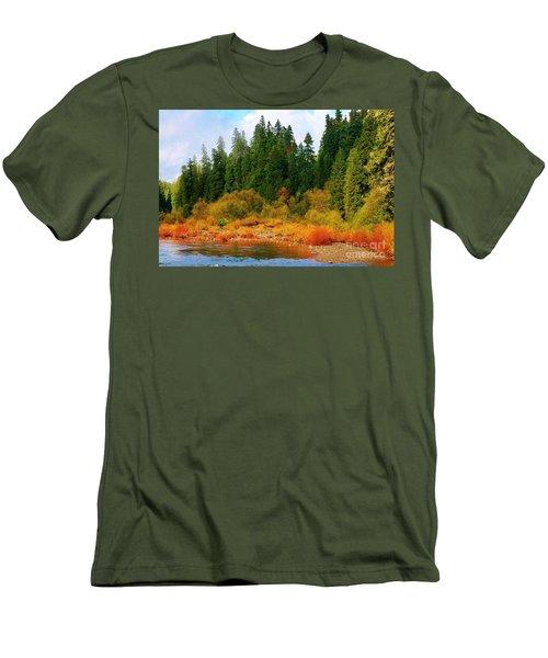 Cascade Autumn Men's T-Shirt (Athletic Fit)