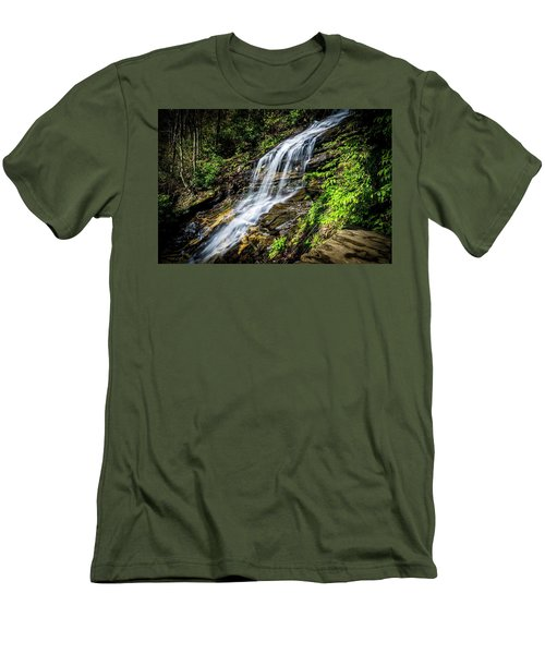 Cascade Falls Men's T-Shirt (Athletic Fit)