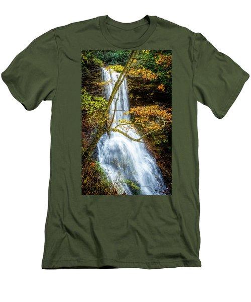 Cascades Deck View Men's T-Shirt (Athletic Fit)