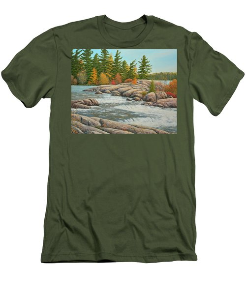 Cascading Flow Men's T-Shirt (Athletic Fit)