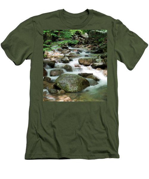 Cascading Water Men's T-Shirt (Athletic Fit)