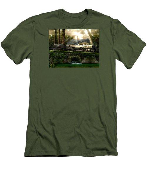 Casey Jones Men's T-Shirt (Slim Fit) by Michael Cleere