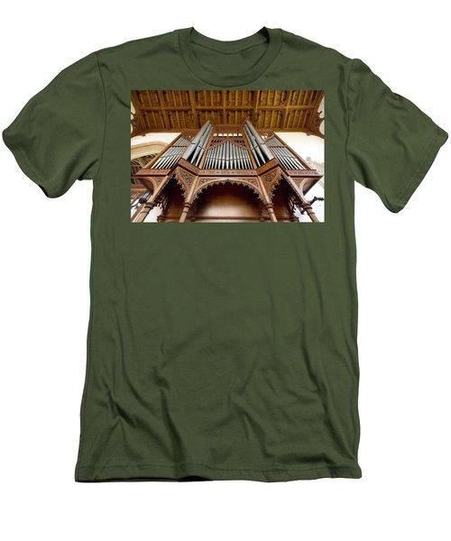 Castle Ashby Pipe Organ Men's T-Shirt (Athletic Fit)