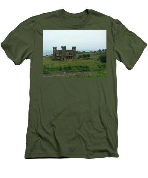 Castle Catania Sicily Men's T-Shirt (Athletic Fit)