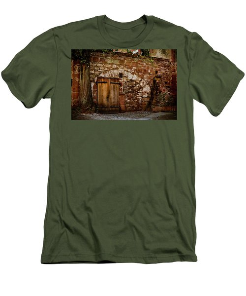 Castle Doors Men's T-Shirt (Athletic Fit)