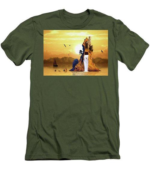 Castle Rising Men's T-Shirt (Athletic Fit)