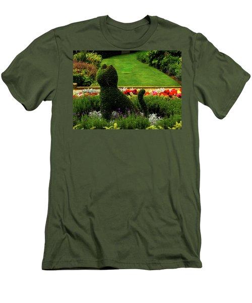 Cat Topiary Belfast Men's T-Shirt (Athletic Fit)