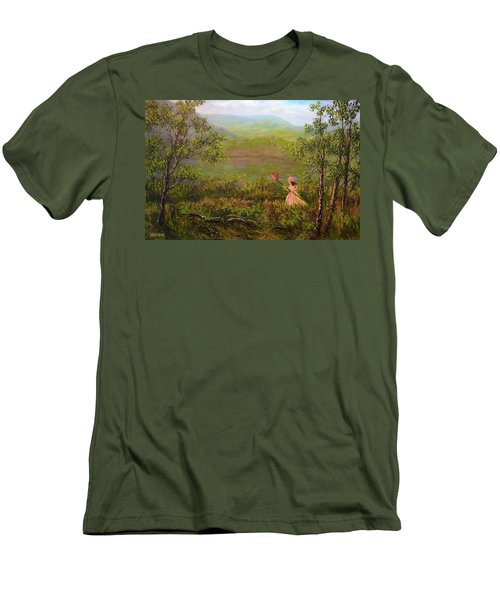 Catching Butterflys Men's T-Shirt (Athletic Fit)
