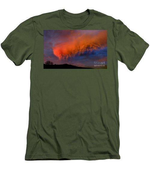 Caterpillar Cloud In The Sky Men's T-Shirt (Athletic Fit)