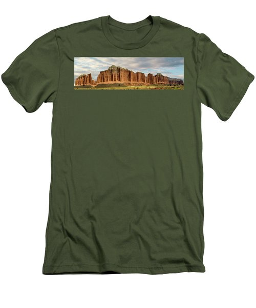 Cathedral Valley Wall Men's T-Shirt (Slim Fit) by Gary Warnimont