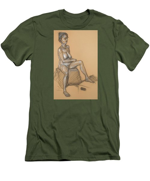 Catherine Seated Men's T-Shirt (Athletic Fit)