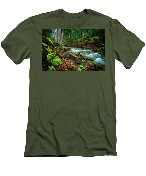 Cave Branch #15 Men's T-Shirt (Athletic Fit)