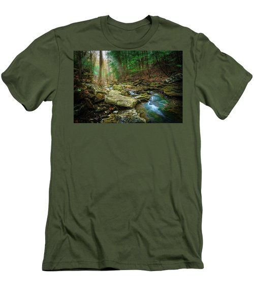 Cave Branch #9 Men's T-Shirt (Athletic Fit)