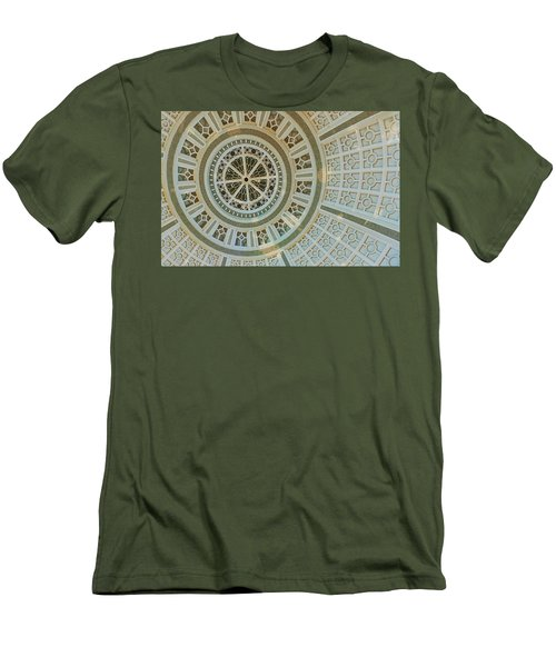 Ceiling Detail Men's T-Shirt (Athletic Fit)