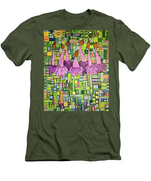 Celebrate Men's T-Shirt (Slim Fit) by Donna Howard