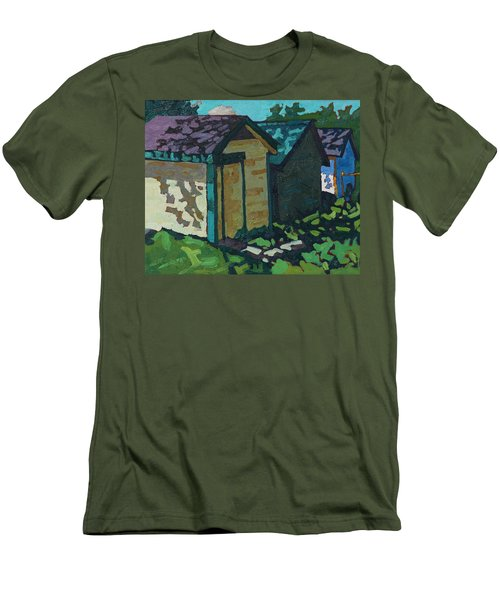 Chaffey Boat Houses Men's T-Shirt (Athletic Fit)