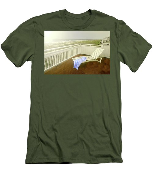 Chaise Lounge Men's T-Shirt (Slim Fit) by Diana Angstadt