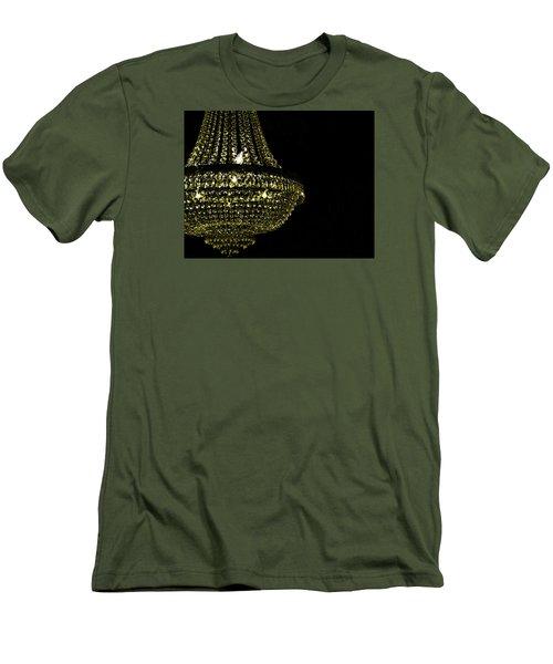 Chandelier Art Men's T-Shirt (Slim Fit) by JAMART Photography