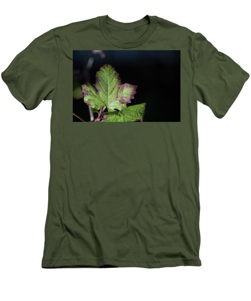 Men's T-Shirt (Athletic Fit) featuring the photograph  Changing Color  by Jingjits Photography
