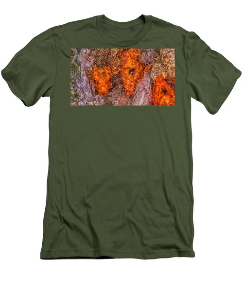Chaos Theory Men's T-Shirt (Slim Fit) by Swank Photography