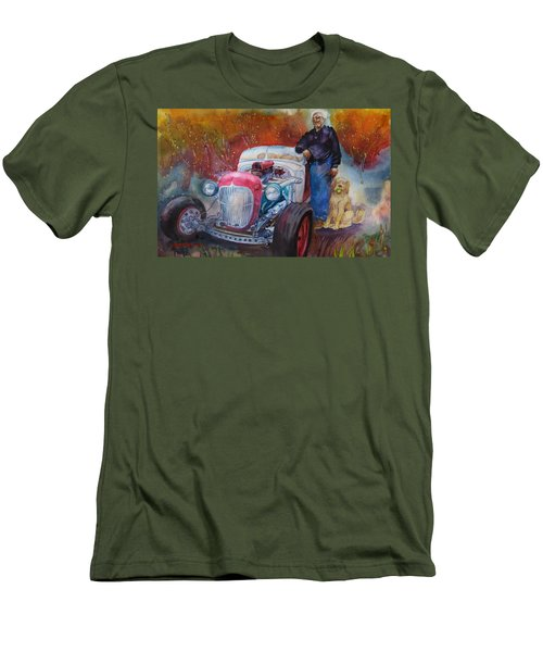 Charlie And Bella's Ride Men's T-Shirt (Athletic Fit)