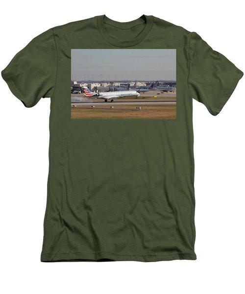 Charlotte Douglas International Airport 20 Men's T-Shirt (Athletic Fit)