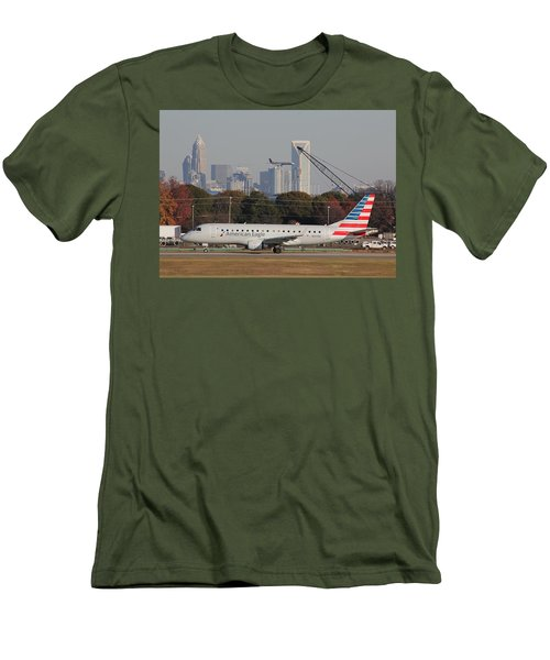 Charlotte Douglas International Airport 22 Men's T-Shirt (Athletic Fit)