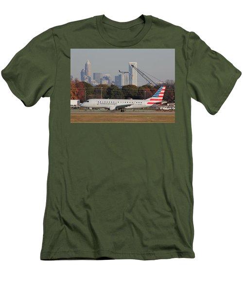 Charlotte Douglas International Airport 22 Men's T-Shirt (Athletic Fit)