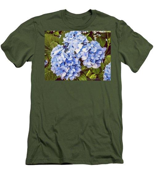 Chase Away The Blues Men's T-Shirt (Slim Fit) by Nance Larson