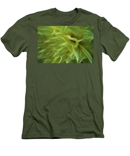 Cheery Chrysanthemum Men's T-Shirt (Athletic Fit)