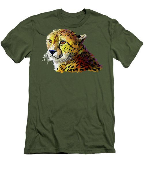 Cheetah Men's T-Shirt (Athletic Fit)