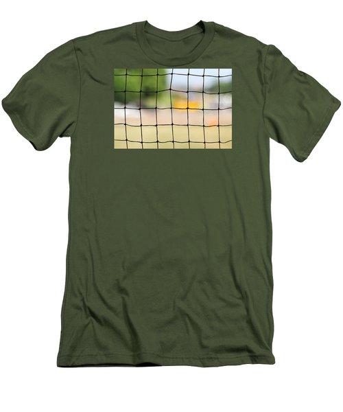 Chequered Present Bleak Future Men's T-Shirt (Slim Fit) by Prakash Ghai