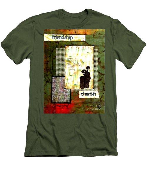 Cherished Friends Men's T-Shirt (Athletic Fit)