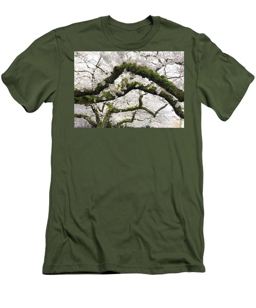 Cherry Blossoms 104 Men's T-Shirt (Athletic Fit)
