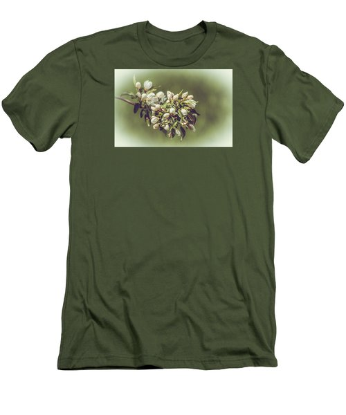Cherry Blossoms Men's T-Shirt (Slim Fit) by Yeates Photography