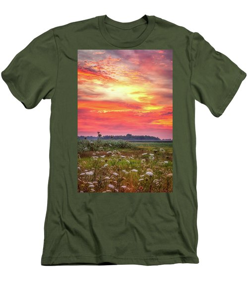 Chesapeake Sunrise I Men's T-Shirt (Athletic Fit)