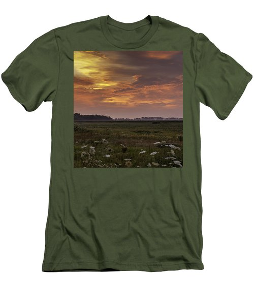 Chesapeake Sunrise II Men's T-Shirt (Slim Fit) by David Cote