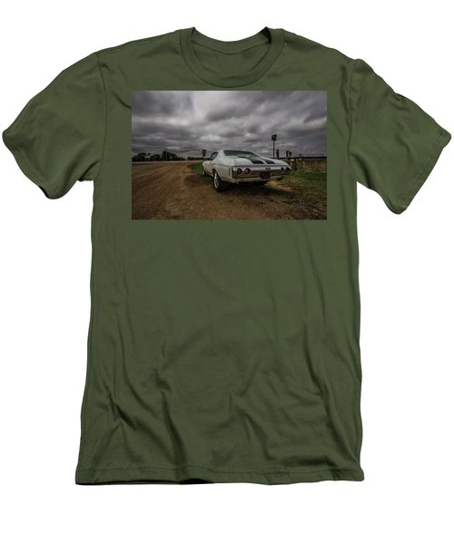 Men's T-Shirt (Slim Fit) featuring the photograph Chevelle Ss by Aaron J Groen