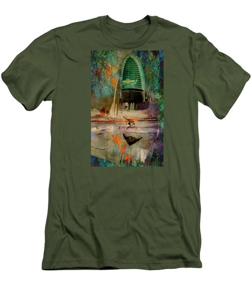 Chevy Tail Men's T-Shirt (Slim Fit) by Greg Sharpe