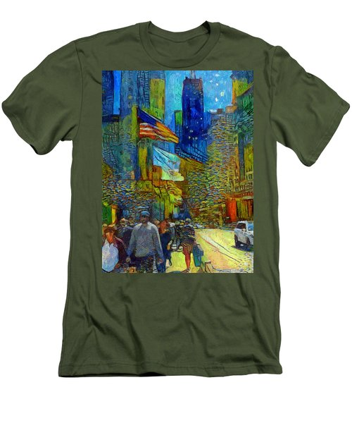 Chicago Colors 2 Men's T-Shirt (Athletic Fit)
