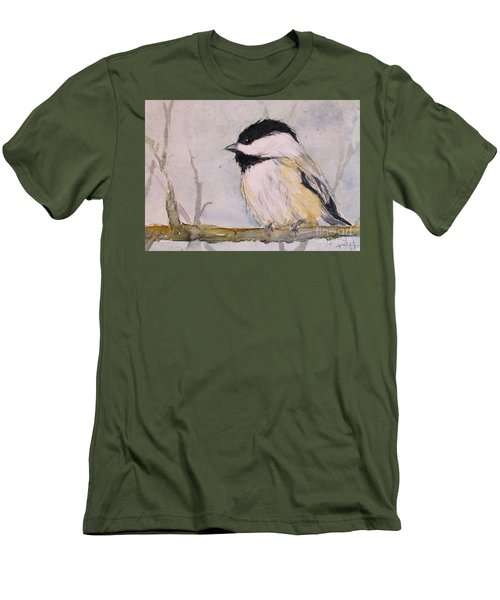 Chickadee Dee Dee Men's T-Shirt (Athletic Fit)