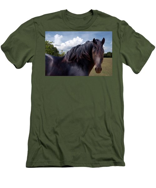 Chief - Windy Portrait Series 3 - Digitalart Men's T-Shirt (Athletic Fit)